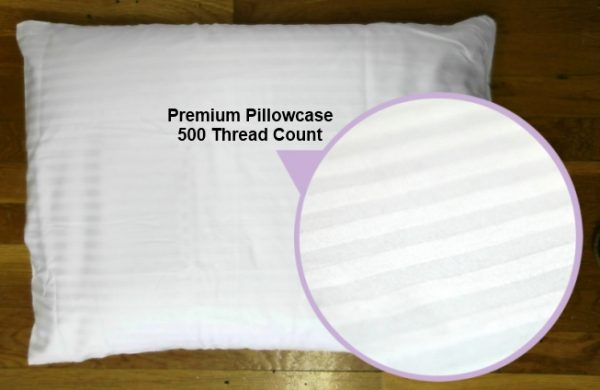 500 thread count premium pillowcase