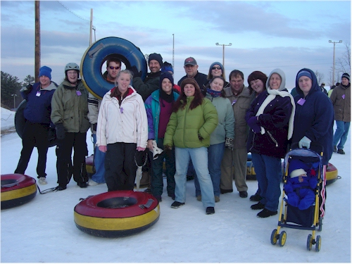 Bridges Of Maine Staff - Snow Tubing