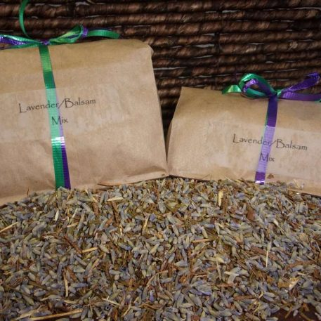 Organic Aromatherapy Lavender-Balsam Mix for Organic Buckwheat Pillows