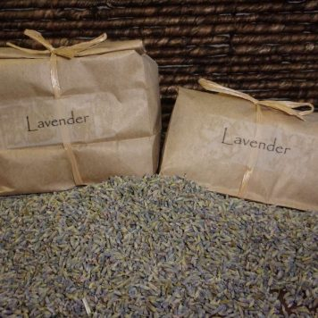 Organic Aromatherapy Lavender for Organic Buckwheat Pillows
