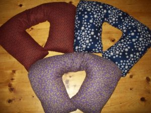 Organic Buckwheat Pillow - Shoulder Style