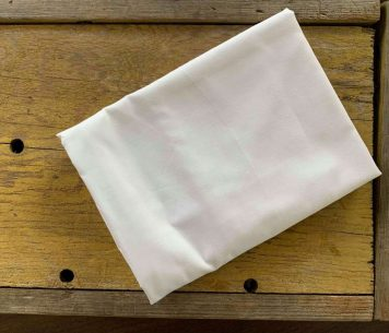 Premium Pillowcase for Large Organic Buckwheat Pillows