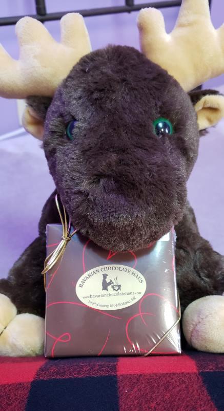 Free Chocolates With Every Organic Buckwheat Stuffed Moose