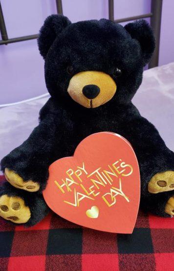 Free Chocolates With Every Organic Buckwheat Stuffed Teddy Bear